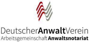 Deutscher Anwalt Verein - Arbeitsgemeinschaft Anwaltsnotariat